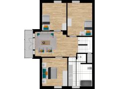 Inviso #281520 / FloorPlan #77056 - Inviso #281520 / FloorPlan #77056 made with Floorplanner