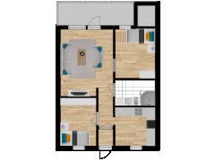 Inviso #281276 / FloorPlan #77050 - Inviso #281276 / FloorPlan #77050 made with Floorplanner