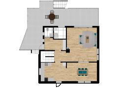 Inviso #281654 / FloorPlan #77052 - Inviso #281654 / FloorPlan #77052 made with Floorplanner