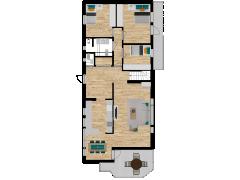 Inviso #276109 / FloorPlan #77049 - Inviso #276109 / FloorPlan #77049 made with Floorplanner