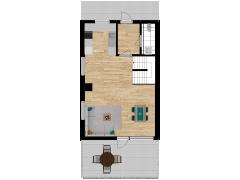 Inviso #281208 / FloorPlan #77051 - Inviso #281208 / FloorPlan #77051 made with Floorplanner