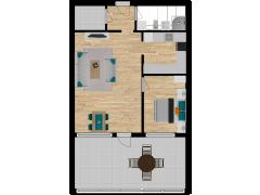 Inviso #281395 / FloorPlan #77117 - Inviso #281395 / FloorPlan #77117 made with Floorplanner