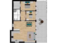 Inviso #280360 / FloorPlan #77055 - Inviso #280360 / FloorPlan #77055 made with Floorplanner