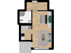 Inviso #280593 / FloorPlan #77072 - Inviso #280593 / FloorPlan #77072 made with Floorplanner