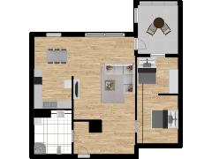 Inviso #284444 / FloorPlan #79875 - Inviso #284444 / FloorPlan #79875 made with Floorplanner