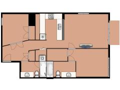 744 North Clark Street 802 - 744 North Clark Street 802 made with Floorplanner