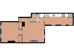 92 Elm Street 1 - 92 Elm Street 1 made with Floorplanner