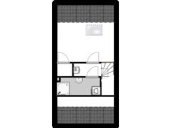 De Muonts 25  - De Muonts 25  made with Floorplanner