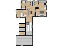 Inviso #285379 / FloorPlan #80112 - Inviso #285379 / FloorPlan #80112 made with Floorplanner