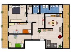 TEMPOCASA+CASAMASSIMA - TEMPOCASA+CASAMASSIMA made with Floorplanner