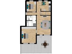Inviso #286328 / FloorPlan #82261 - Inviso #286328 / FloorPlan #82261 made with Floorplanner