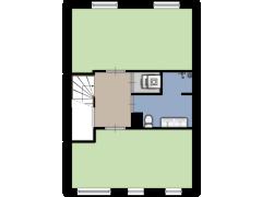 Roald Amundsenstraat 114, Almere - Roald Amundsenstraat 114, Almere made with Floorplanner
