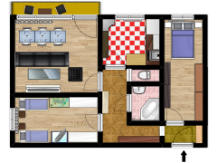 lisen 3plus 1 - lisen 3plus 1 made with Floorplanner