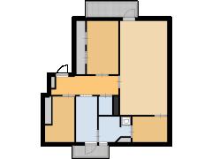Mr. Heemskerkstraat 46 - Mr. Heemskerkstraat 46 made with Floorplanner