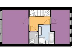 Piet Kraakstraat 4 - Piet Kraakstraat 4 made with Floorplanner