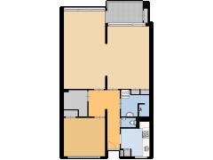 Wimbledonpark 35, Amstelveen - Wimbledonpark 35, Amstelveen made with Floorplanner