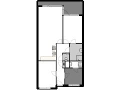 Van Heukelomstraat 285  - Van Heukelomstraat 285  made with Floorplanner
