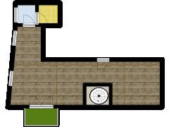 Attico - Attico made with Floorplanner