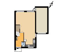 9278 - BAAS - Okkernootstraat 7 - Tiel - 9278 - BAAS - Okkernootstraat 7 - Tiel made with Floorplanner