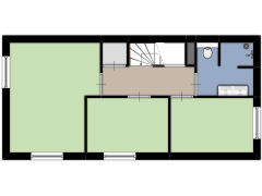 Hofkersstraat 30, Nijmegen - Hofkersstraat 30, Nijmegen made with Floorplanner