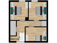 Inviso #292338 / FloorPlan #84760 - Inviso #292338 / FloorPlan #84760 made with Floorplanner