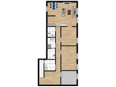 Inviso #290045 / FloorPlan #84746 - Inviso #290045 / FloorPlan #84746 made with Floorplanner