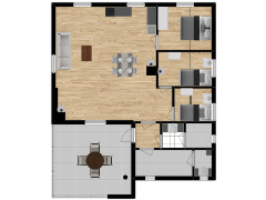 Inviso #292072 / FloorPlan #84763 - Inviso #292072 / FloorPlan #84763 made with Floorplanner