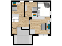 Inviso #291735 / FloorPlan #84750 - Inviso #291735 / FloorPlan #84750 made with Floorplanner