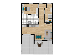 Inviso #289965 / FloorPlan #84751 - Inviso #289965 / FloorPlan #84751 made with Floorplanner
