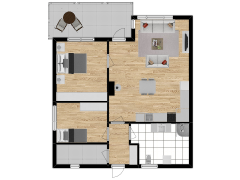 Inviso #292229 / FloorPlan #84761 - Inviso #292229 / FloorPlan #84761 made with Floorplanner