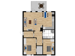 Inviso #291877 / FloorPlan #84748 - Inviso #291877 / FloorPlan #84748 made with Floorplanner