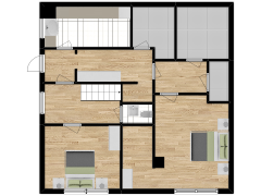 Inviso #291483 / FloorPlan #84756 - Inviso #291483 / FloorPlan #84756 made with Floorplanner