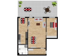 Inviso #292222 / FloorPlan #84762 - Inviso #292222 / FloorPlan #84762 made with Floorplanner