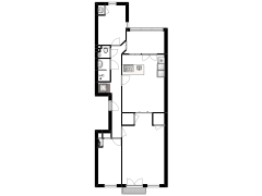 Stadhouderskade 104-I Amsterdam - Stadhouderskade 104-I Amsterdam made with Floorplanner