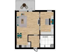 Inviso #292039 / FloorPlan #84874 - Inviso #292039 / FloorPlan #84874 made with Floorplanner