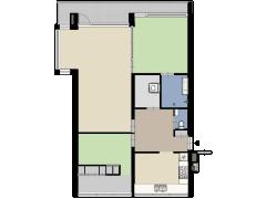 Concordiastraat 62, Breda - Concordiastraat 62, Breda made with Floorplanner