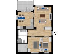 Inviso #292392 / FloorPlan #84871 - Inviso #292392 / FloorPlan #84871 made with Floorplanner