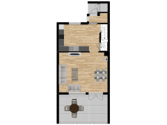 Inviso #292607 / FloorPlan #84875 - Inviso #292607 / FloorPlan #84875 made with Floorplanner