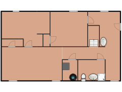 1615 East 83rd Street - 1615 East 83rd Street made with Floorplanner