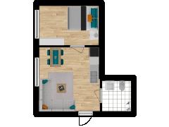 Inviso #296199 / FloorPlan #87092 - Inviso #296199 / FloorPlan #87092 made with Floorplanner