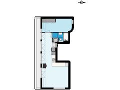1986 - DAMES - Hoofdweg 143-D - Amsterdam - 1986 - DAMES - Hoofdweg 143-D - Amsterdam made with Floorplanner
