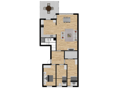 Inviso #293271 / FloorPlan #87095 - Inviso #293271 / FloorPlan #87095 made with Floorplanner