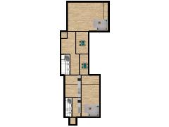 Inviso #296227 / FloorPlan #87094 - Inviso #296227 / FloorPlan #87094 made with Floorplanner