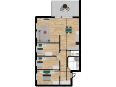 Inviso #295733 / FloorPlan #87100 - Inviso #295733 / FloorPlan #87100 made with Floorplanner