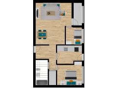 Inviso #295530 / FloorPlan #87105 - Inviso #295530 / FloorPlan #87105 made with Floorplanner