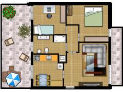 Appartamento - Appartamento made with Floorplanner