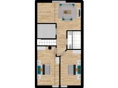 Inviso #295704 / FloorPlan #87101 - Inviso #295704 / FloorPlan #87101 made with Floorplanner