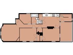 33 Washburn Street 1 - 33 Washburn Street 1 made with Floorplanner