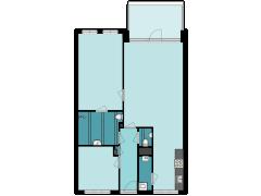 34358 - TENHAG-DOET - Dr Huber Noodtstraat 20-18 - Doetinchem - 34358 - TENHAG-DOET - Dr Huber Noodtstraat 20-18 - Doetinchem made with Floorplanner