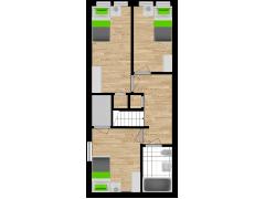 Inviso #288264 / FloorPlan #87155 - Inviso #288264 / FloorPlan #87155 made with Floorplanner